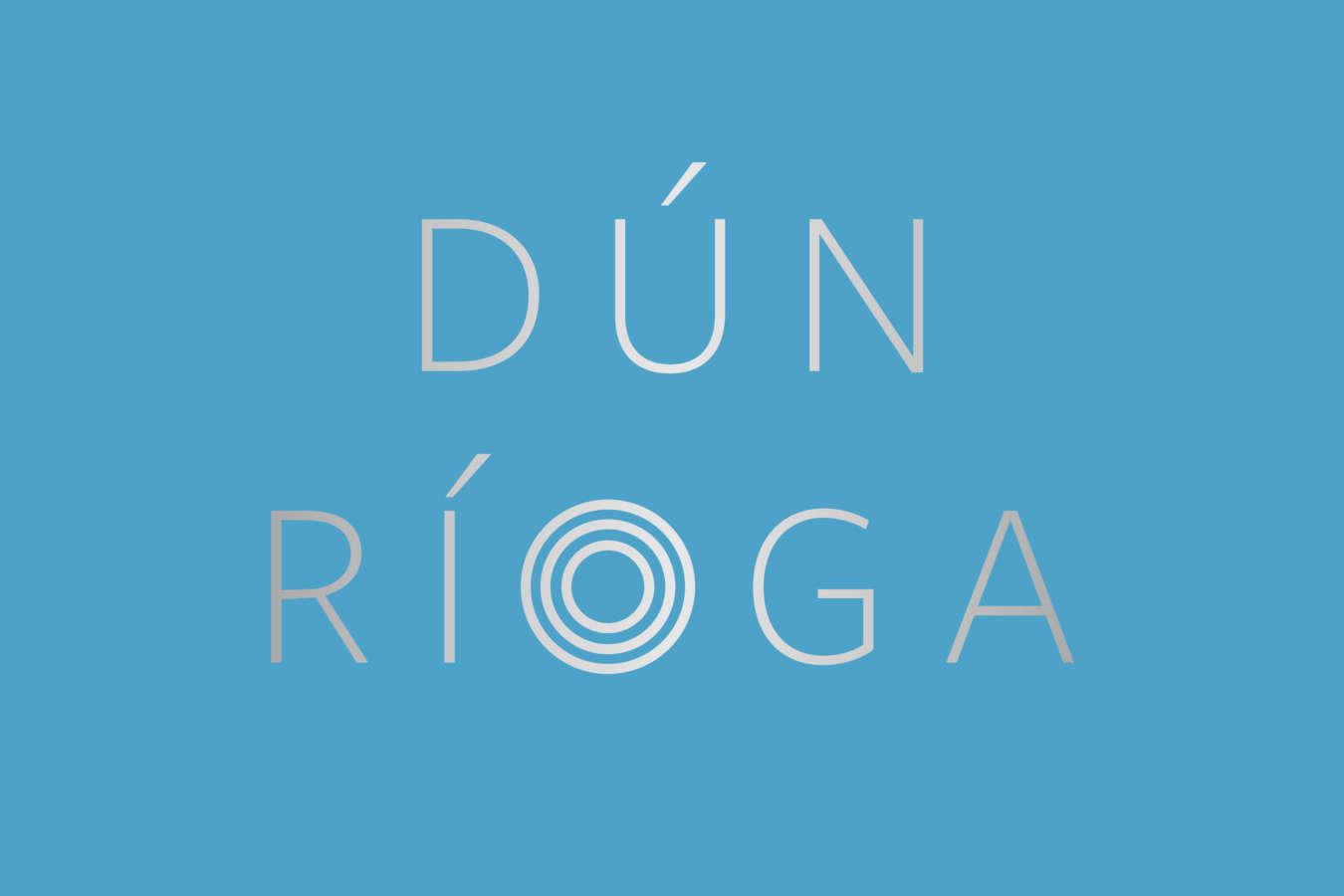 Dun Rioga Logo Blue